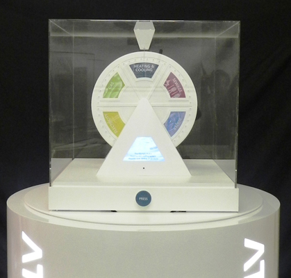 Interactive Displays Engineered for Atkins