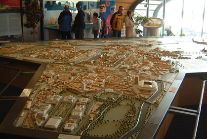 Cardiff Bay Visitor Centre Model (Rebuild/Refurbish)