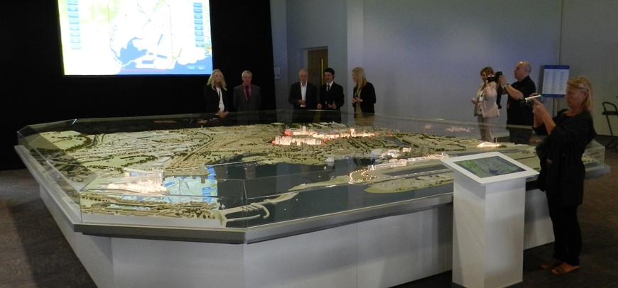 Cardiff City Masterplan Model – Scale 1:750