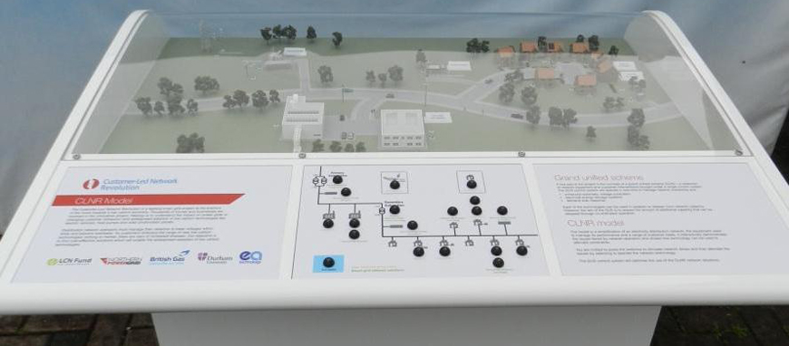 CLNR Interactive Model for Northern PowerGrid