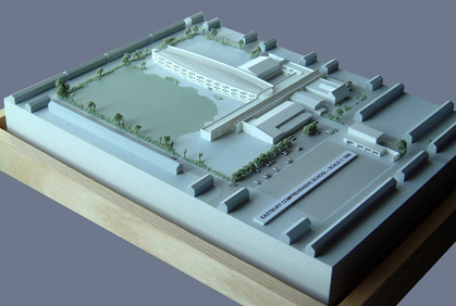 Detailed White School Model