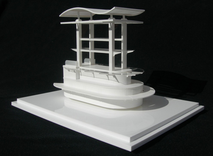 Retail Display Unit - Scale 1:20
