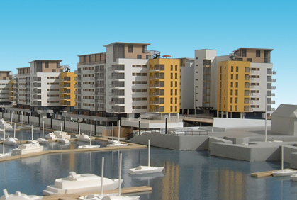 Dockside Apartments, South Coast