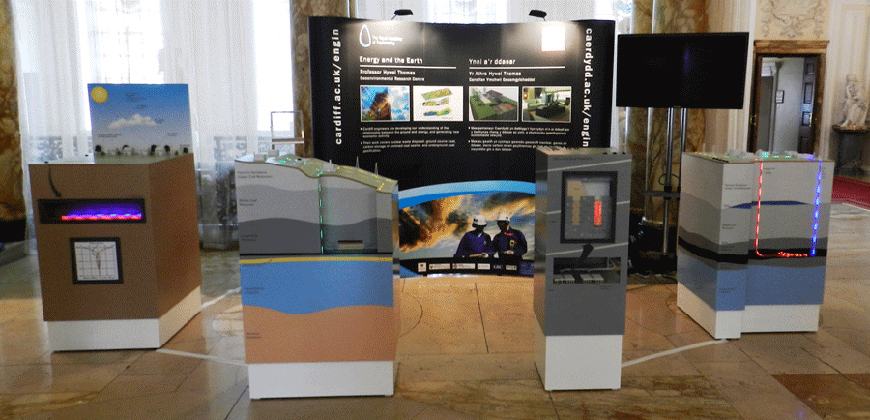 Interactive models for Engineering Exhibition
