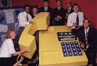 Giant Yellow Phone