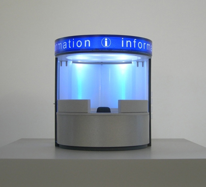 Model of Information Point - Scale 1:20