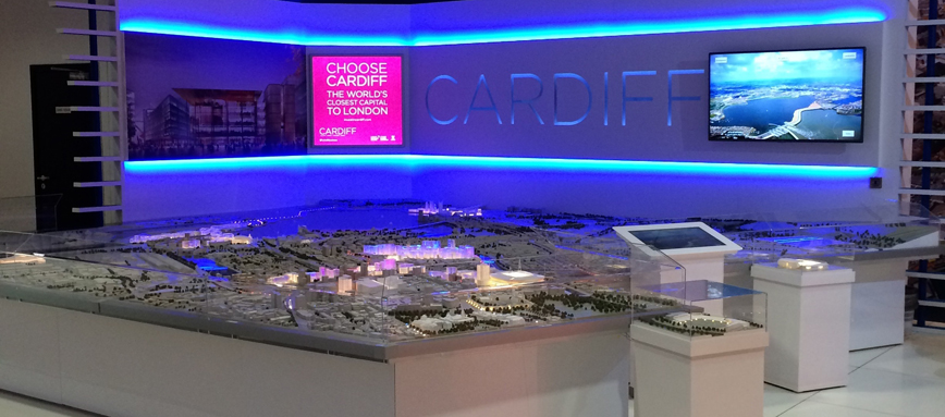Interactive Model of Cardiff