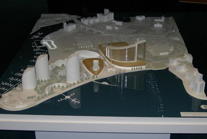 International Sports Village - Scale 1:500