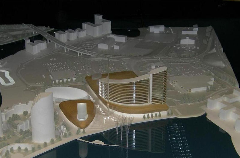 white architectural models from modelmakers uk
