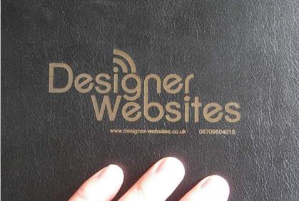 Laser Engraved Conference Folder