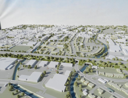Maidenhead Masterplan Model