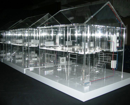 Perspex House Model - Scale 1:20