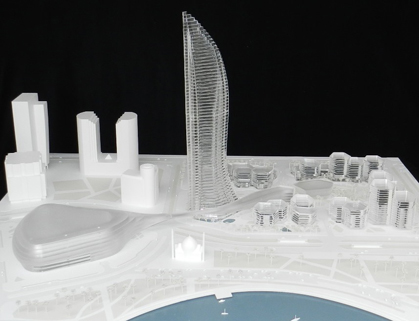 Perspex Model for Saudi Development