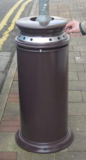 Wrap-around Waste Bin prototype model – Scale 1:1