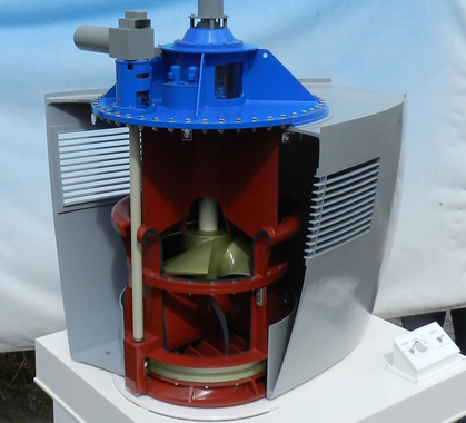 Interactive Ships Thruster Model – Scale 1:10