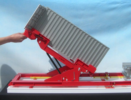 Industrial Model of Container Tilter – Scale 1:10