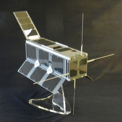 Ukube Satellite Model - Scale 1:1