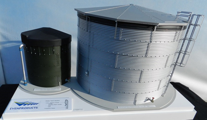 Water tank Model – Scale 1:12
