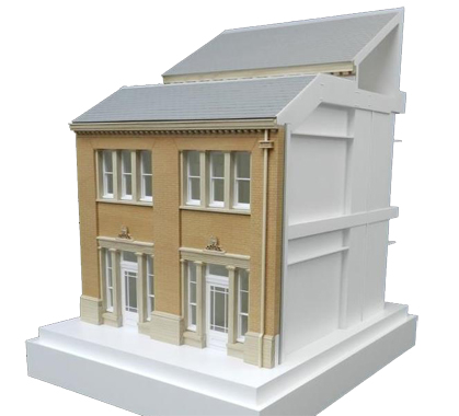 1:25 Scale Wooden Elevation Detail