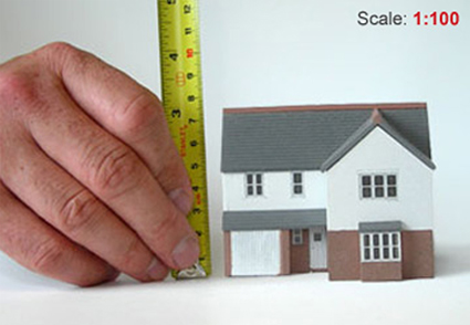 how to use an architectural scale