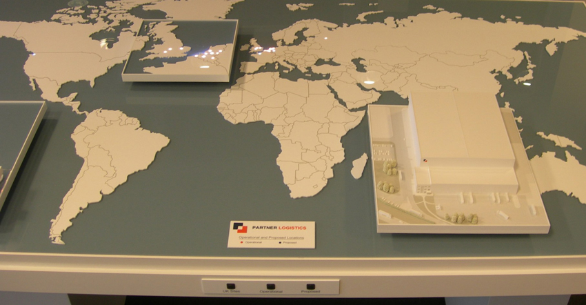 Laser Cut World Map.Our Latest Projects Modelmakers World Map Model September 2010