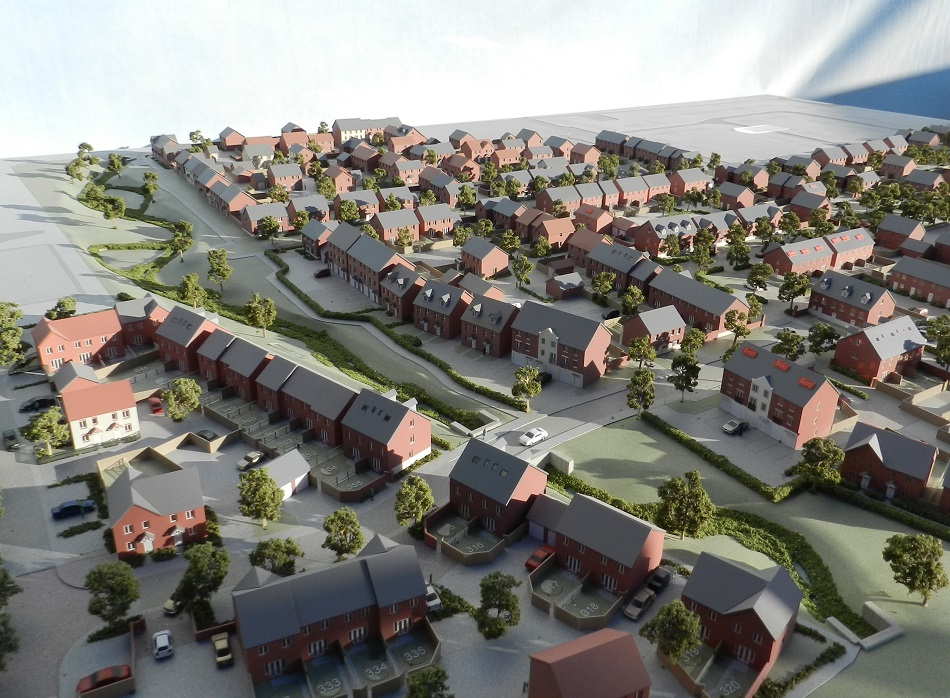 Our Latest Projects Modelmakers Large Housing